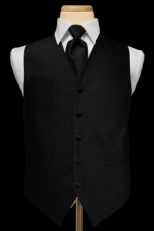Palermo Vest & Tie Set (over 25 colors available)