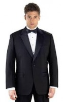 Classix Microfiber Tuxedo Package 1 Button Notch Lapel