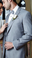 Infinity Heather Gray Tuxedo (Slim or Regular fit)