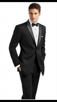 Ike Behar 1-Button Peak Lapel (Slim Fit)