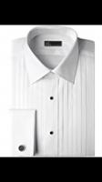 Ike Behar 100% Cotton Woven Tuxedo Shirt