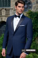 Ike Behar Navy Blue Blake (slim fit)