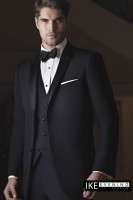 Ike Behar 2- Button Notch Luxurious Slim Fit Tuxedo