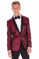 Apple Red Aries Tuxedo Package