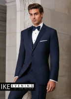 Ike Behar Navy Sebastian Package Slim Fit