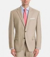 Michael Kors Couture 1910 Tan Suit Package (Slim Fit)
