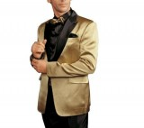 Mojgan Gheissari Gold Tuxedo package
