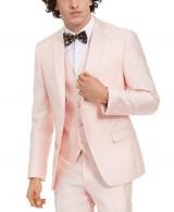 Alfani Pink Tuxedo Suit